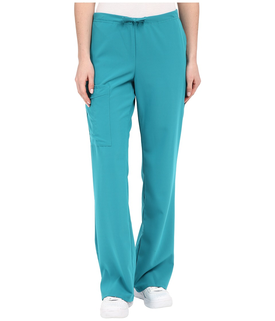 Jockey Front Drawstring Pants Teal Womens Casual Pants