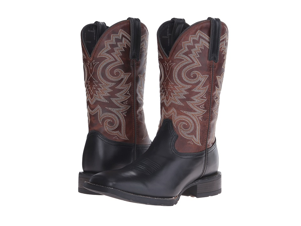 Durango Mustang 12 Western (Black/Brown) Cowboy Boots