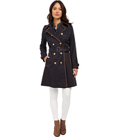 LAUREN Ralph Lauren - Trench with Faux Leather Piping
