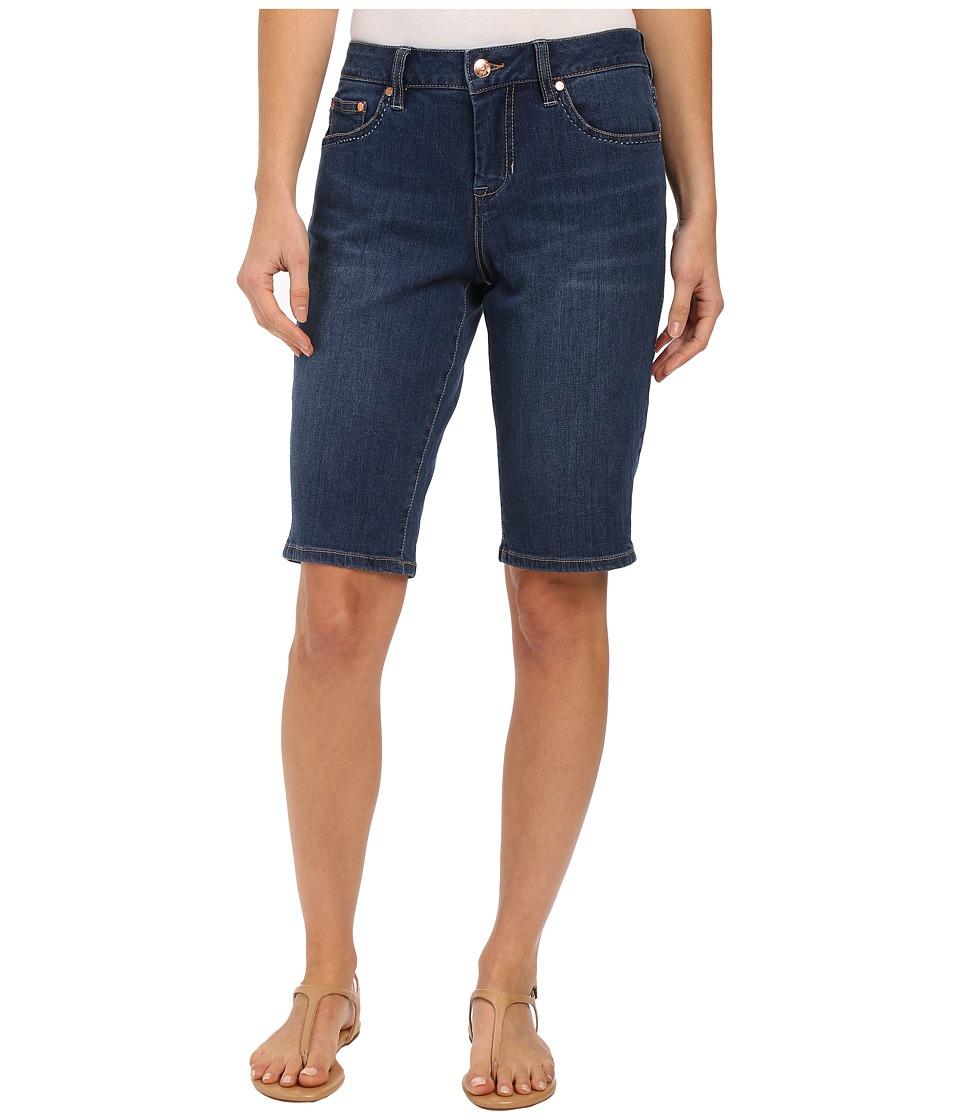 Jag Jeans Willa Bermuda Republic Denim in Blue Shadow Blue Shadow Womens Jeans