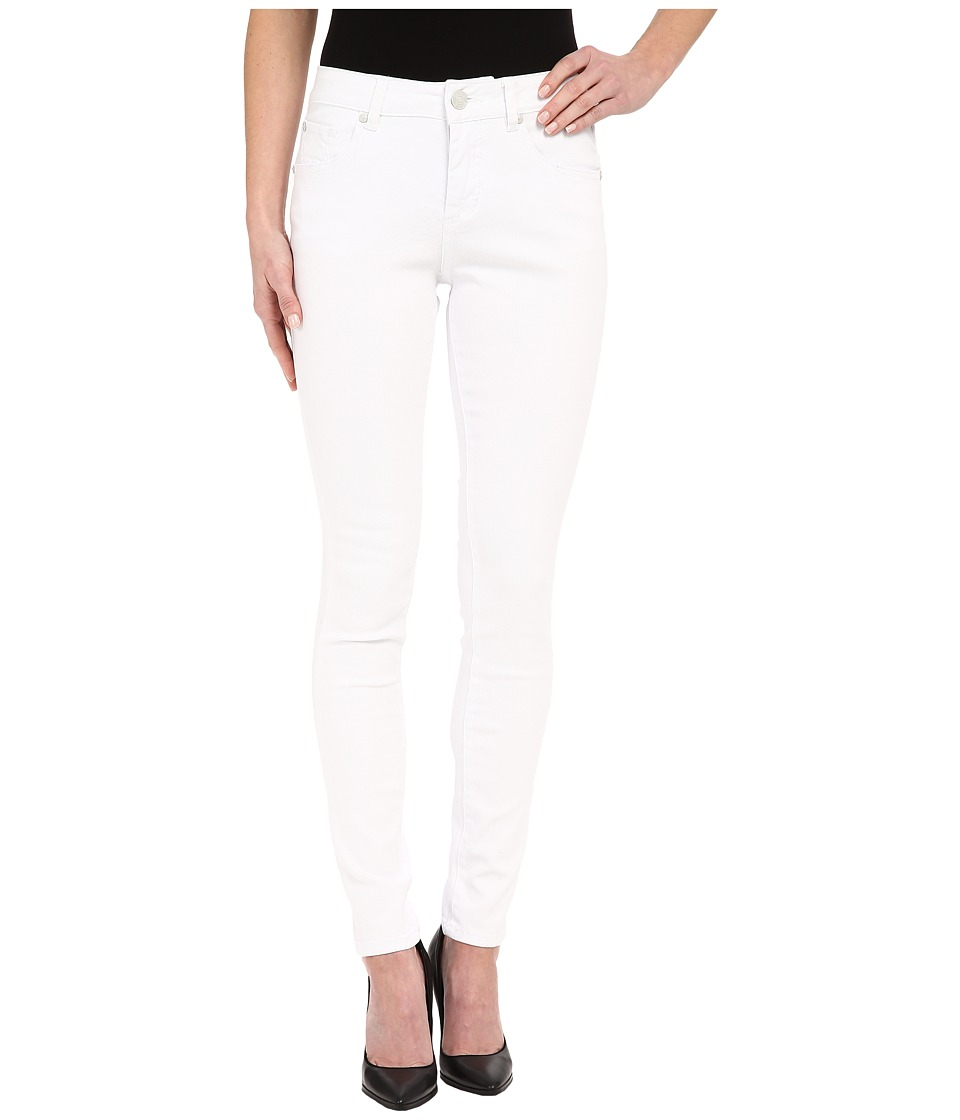 Jag Jeans Westlake Skinny in White Denim White Womens Jeans