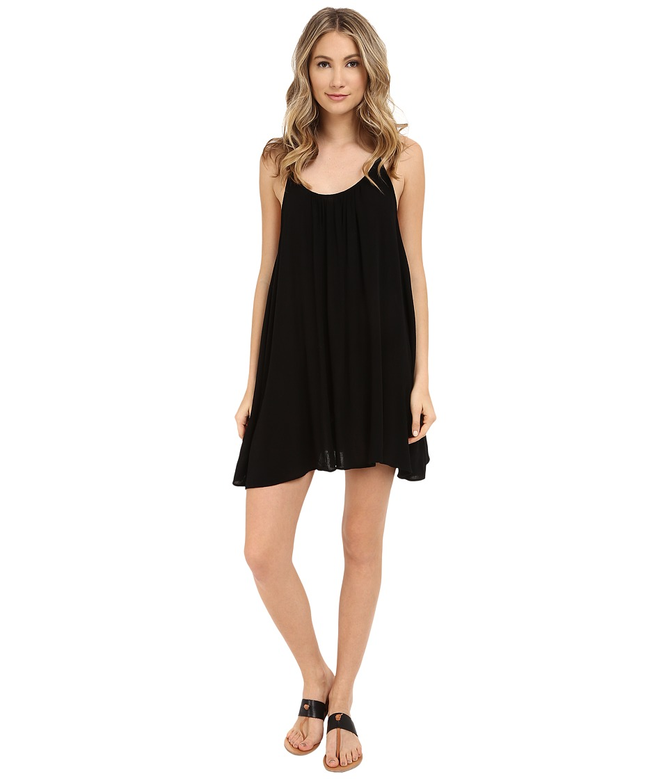 Roxy Windy Fly Away Dress Cover-Up (True Black)