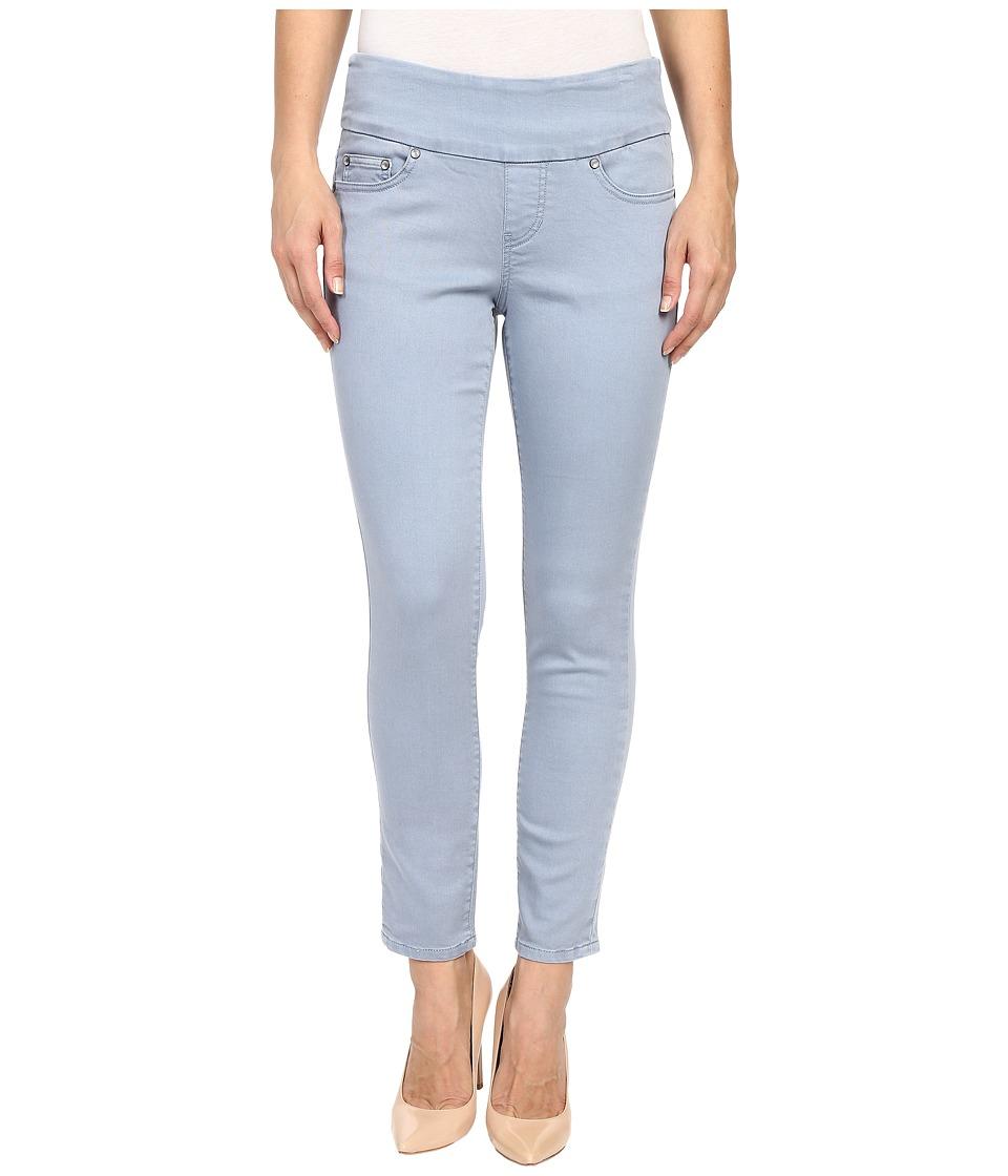 Jag Jeans Amelia Ankle Pigment Dyed Knit Denim in Blue Wonder Blue Wonder Womens Jeans