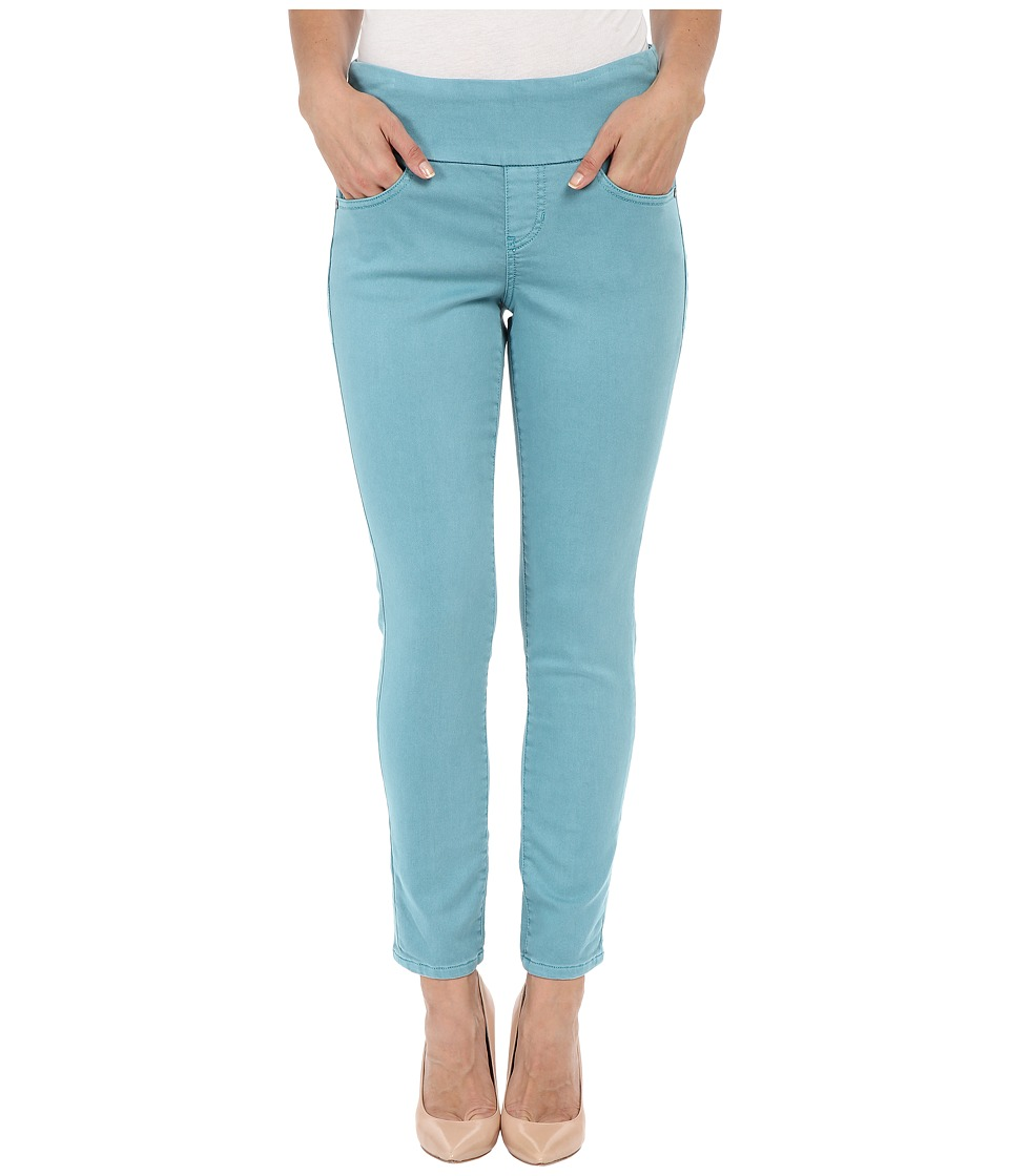 Jag Jeans Amelia Ankle Pigment Dyed Knit Denim in Oceana Oceana Womens Jeans