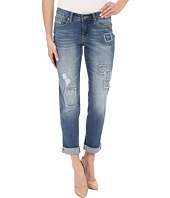 Jag Jeans - Patched Alex Boyfriend Capital Denim in Rock Water Blue
