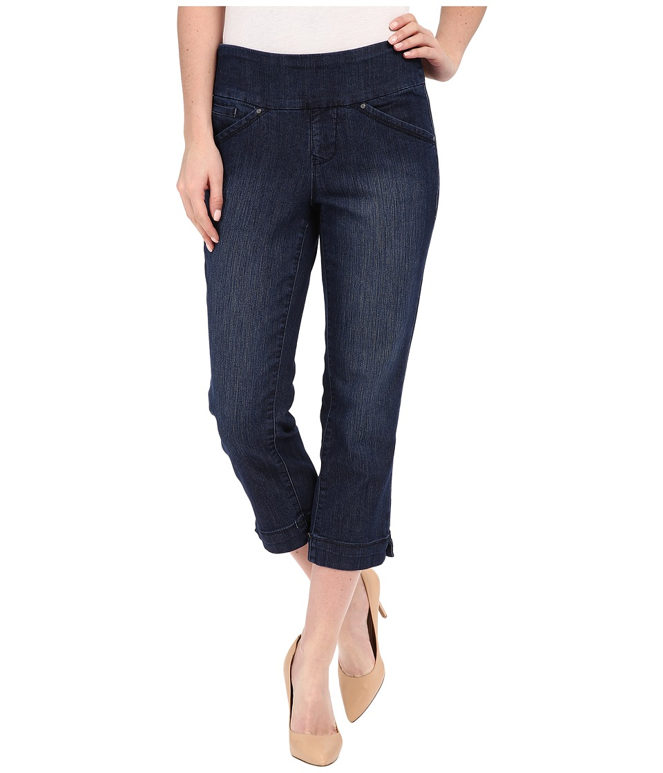 Jag Jeans Marion Crop Comfort Denim in Blue Shadow Blue Shadow Womens Jeans