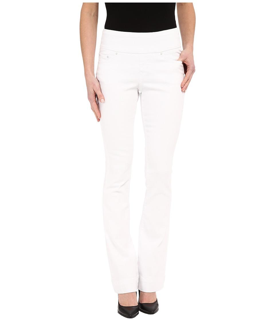 Jag Jeans Ella Flare in White Denim White Womens Jeans