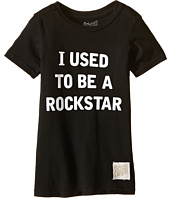 The Original Retro Brand Kids - I Used To Be A Rockstar Short Sleeve Tee (Little Kids/Big Kids)
