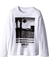 Hurley Kids - Not Going Out There Short Sleeve Tee (Little Kids)