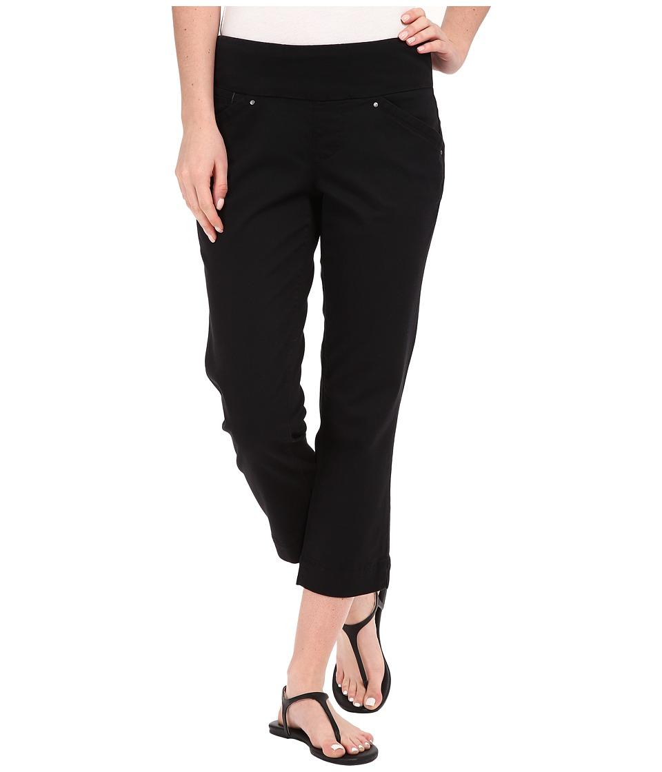 Jag Jeans Marion Crop in Bay Twill (Black) Women