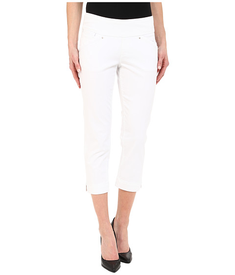 Jag Jeans Marion Crop in Bay Twill - White