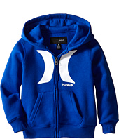 Hurley Kids - The Icon Zip Front Hoodie (Little Kids)