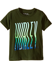 Hurley Kids - Wavey Type Tee (Little Kids)
