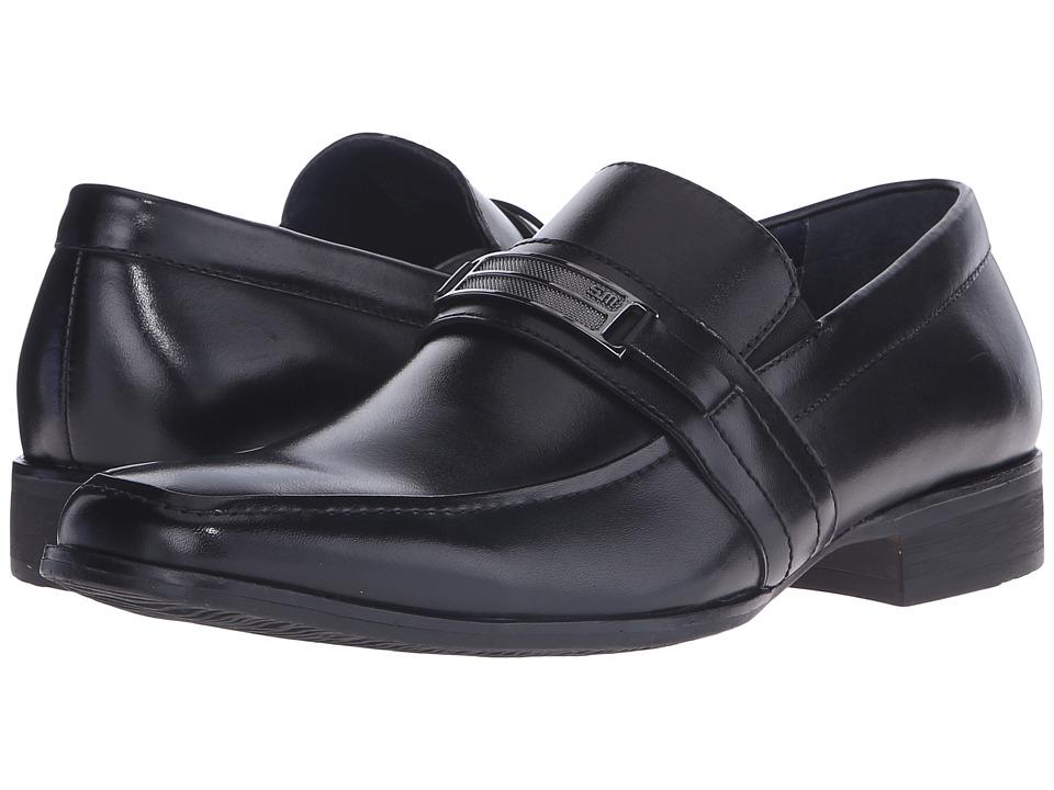 Steve Madden - Shoore (Black Leather) Men