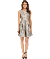 Vince Camuto - Split Neck Fit and Flare Dress