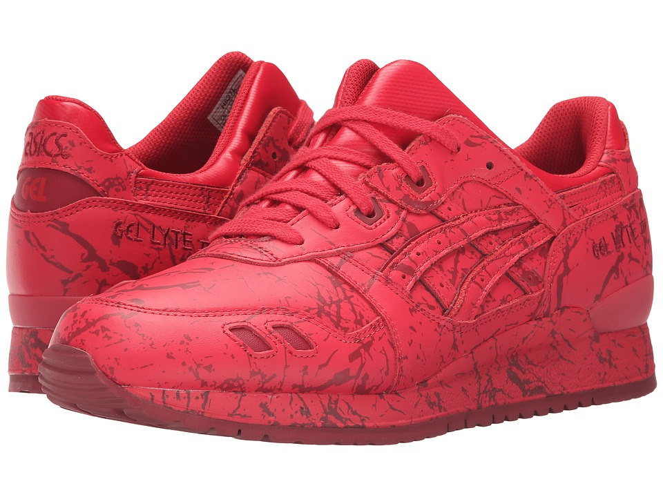 ASICS Tiger Gel-Lyte III (Classic Red/Classic Red) Classic Shoes
