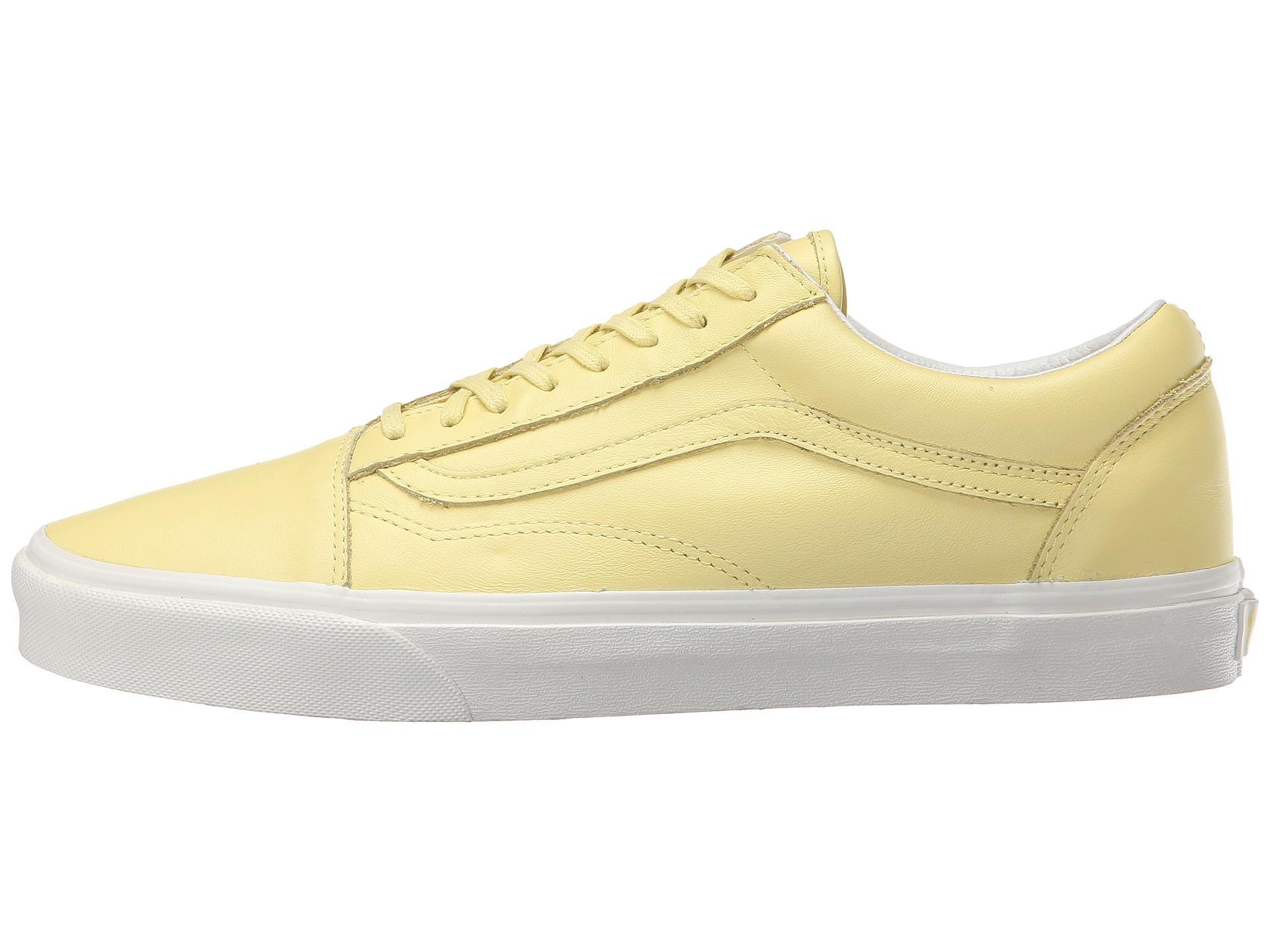 Vans Old Skoolu2122 (Pastel Pack) Yellow Cream/Blanc De Blanc - Zappos.com Free Shipping BOTH Ways