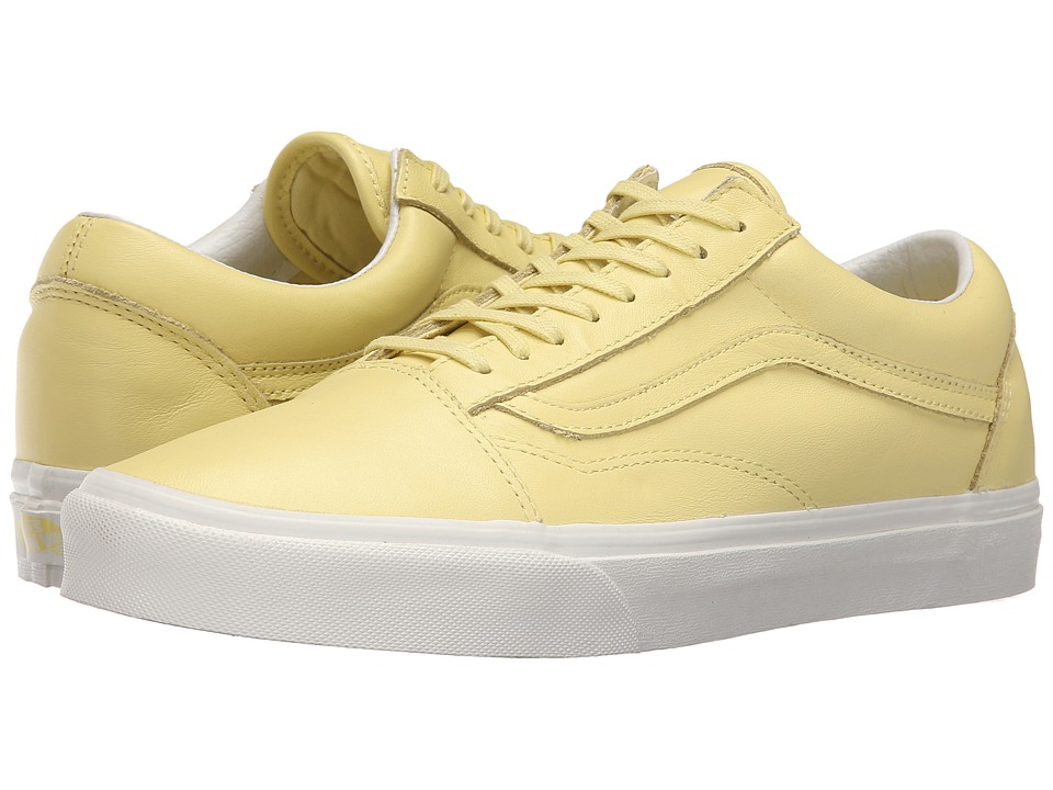 Vans Old Skool Pastel Pack Yellow Cream/Blanc de Blanc Skate Shoes