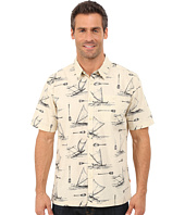 Quiksilver Waterman - Pops Short Sleeve Woven Shirt