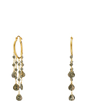 Dee Berkley - Pyrite Hoop Earrings