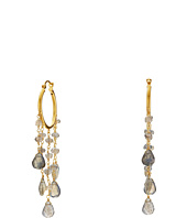 Dee Berkley - Labradorite Hoop Earrings