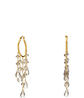 Dee Berkley - Smoky Quartz Hoop Earrings