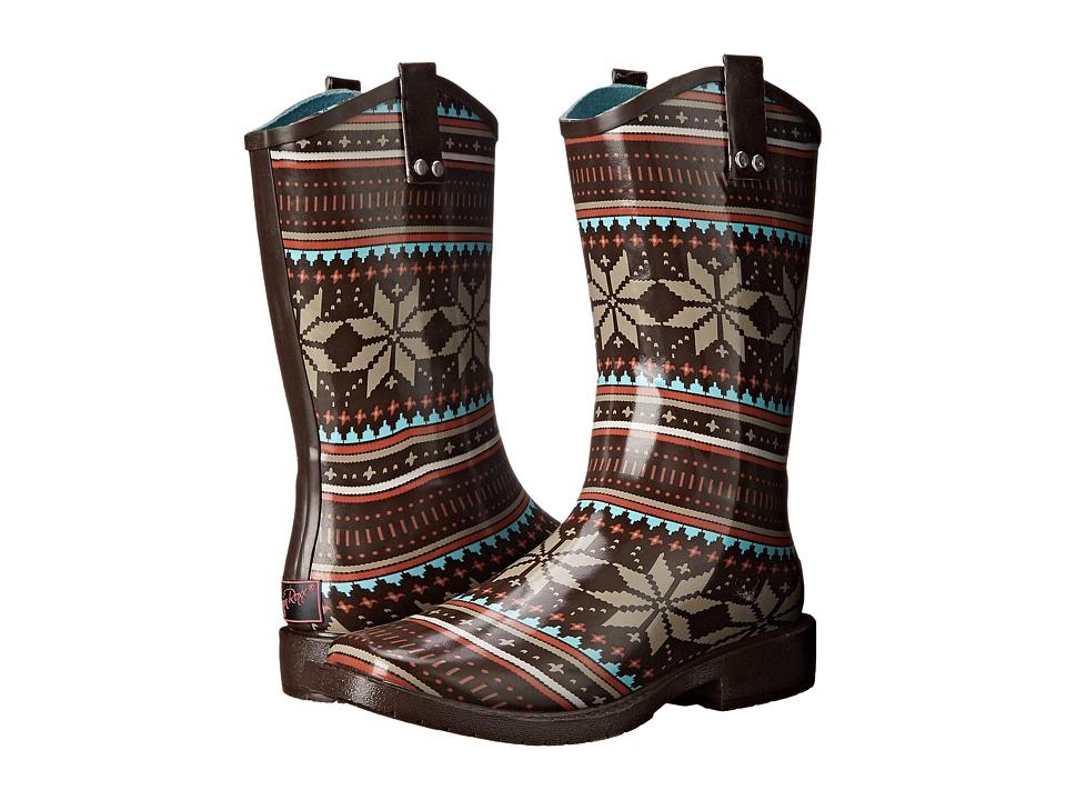 M&F Western Scarlett (Black/Turquoise) Cowboy Boots