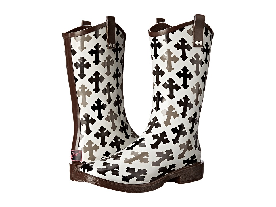 M&F Western Hope (Black/White) Cowboy Boots