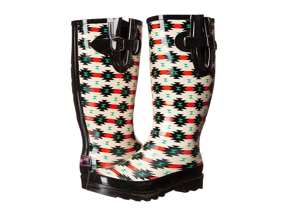 M&F Western Hattie (Black/Red) Cowboy Boots