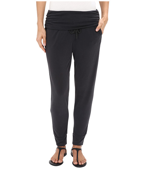 Splendid Sandwash Jersey Fold-Over Pants