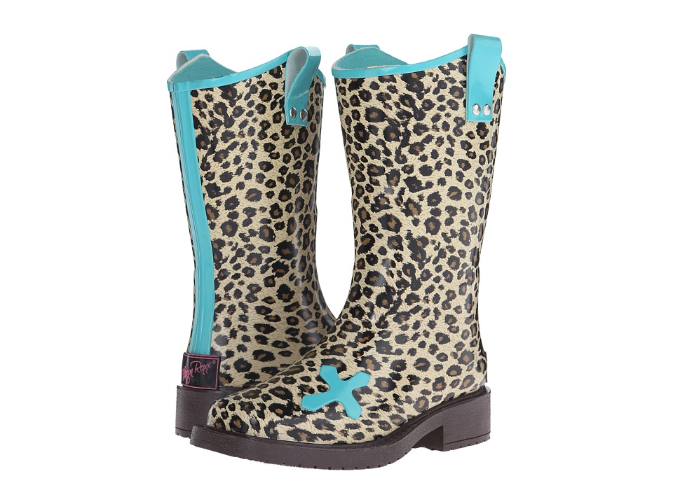 Blazin Roxx Piper (Toddler/Little Kid/Big Kid) (Brown/Turquoise) Cowboy Boots
