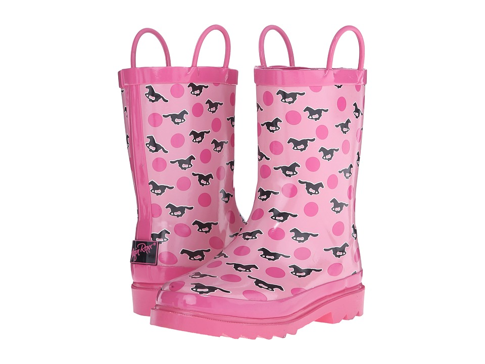 Blazin Roxx Jaylee (Toddler/Little Kid/Big Kid) (Pink) Cowboy Boots