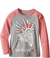 Hurley Kids - Split Decision Raglan (Little Kids)