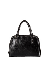 M&F Western - Floral Embossed Buck Stitch Dr. Bag