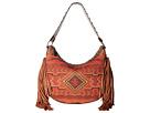 M&F Western Indian Blanket Fringe Shoulder Bag (Multi)