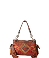 M&F Western - Indian Blanket Fringe Satchel