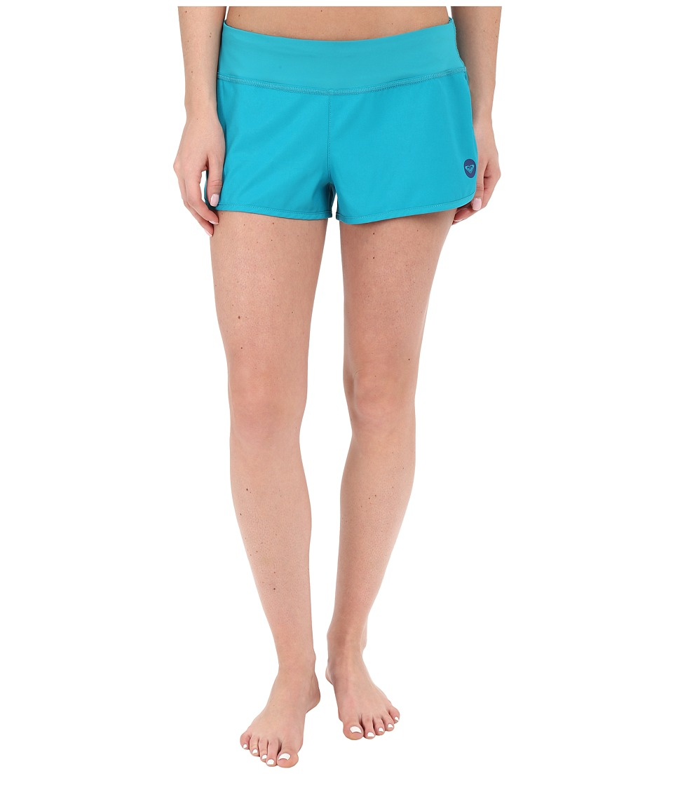Roxy Essentials Endless Summer 2 Boardshorts Dark Jade Womens Swimwear