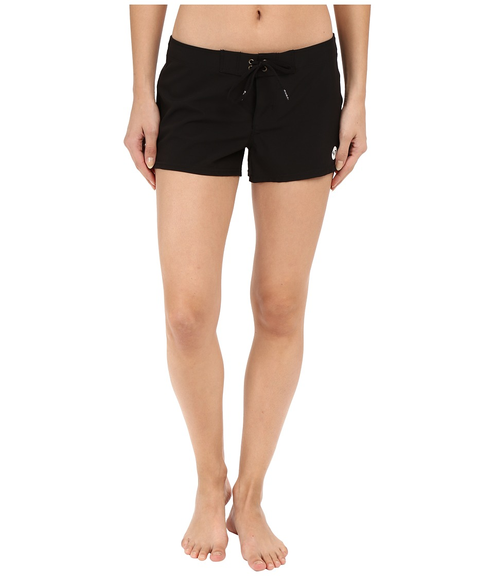 Roxy Essentials To Dye For 2 Boardshorts True Black Womens Swimwear