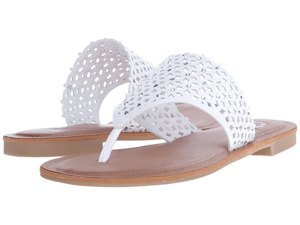 Yellow Box Dream White Womens Sandals