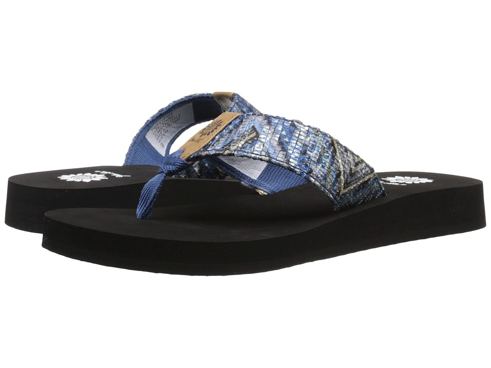 Yellow Box Hespera Blue Womens Sandals
