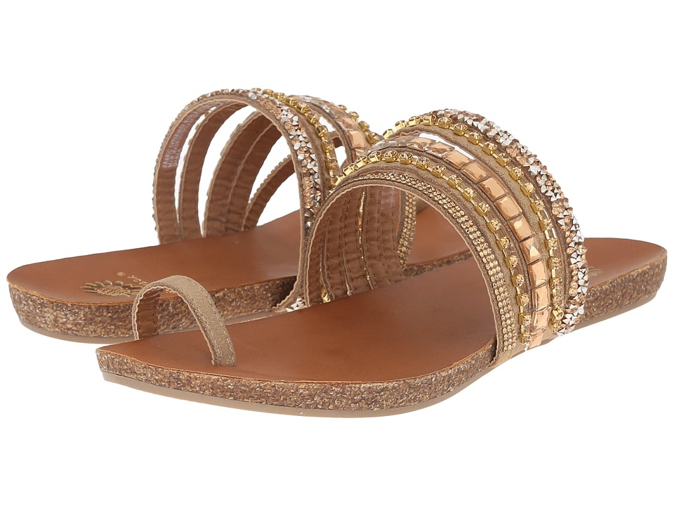 Yellow Box Darra Tan Womens Sandals