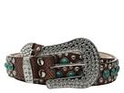M&F Western Turquoise Stone Snake Belt