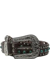 M&F Western - Turquoise Stone Croco Belt