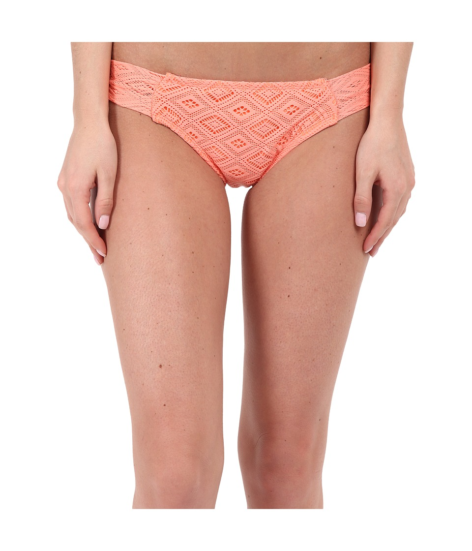 Roxy Hazy Daisy Base Girl Pants Sunkissed Coral Womens Swimwear