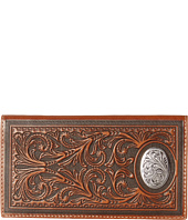M&F Western - Large Oval Concho Embossed Rodeo Wallet