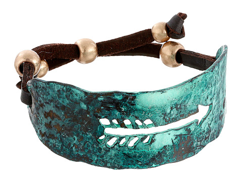 M&F Western Distressed Arrow Cuff Bracelet - Turquoise