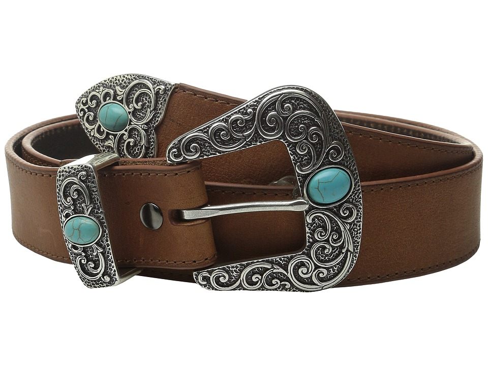 Ariat Turquoise Stone Belt (Brown) Women