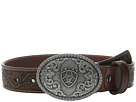 Ariat Embossed Oval Shield Buckle Belt (Little Kids/Big Kids)