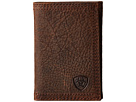 Ariat Shield Triple Stitch Trifold Wallet
