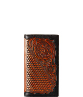 Ariat - Basket Weave Floral Tab Rodeo Wallet